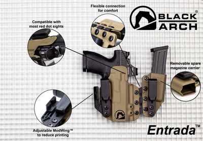 Entrada™ Flexible Appendix Holster