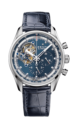 Zenith Chronomaster Power Reserve 42mm Blue Crocodile
