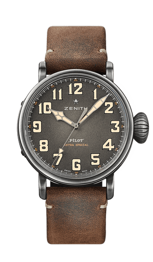 Zenith Pilot Type 20 Extra Special 45mm Ton-Up Brown