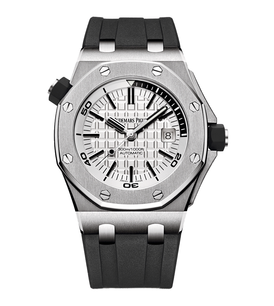 Audemars Piguet Royal Oak 42mm Offshore Diver Silver Dial