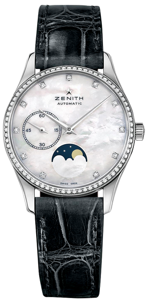 Zenith Elite Diamond Ultra Thin 33mm Moonphase