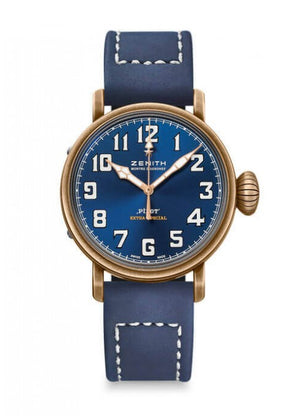 Zenith Pilot Type 20 40mm Bronze Blue Dial