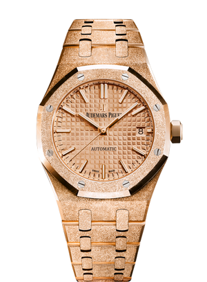 Audemars Piguet Royal Oak 37mm Frosted Rose Gold