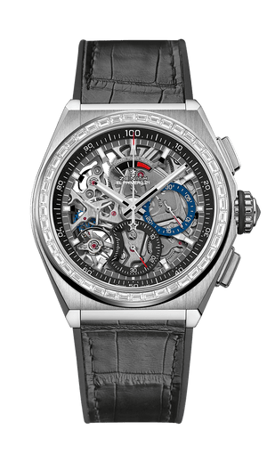 Zenith Defy Titanium and White Gold with Diamonds