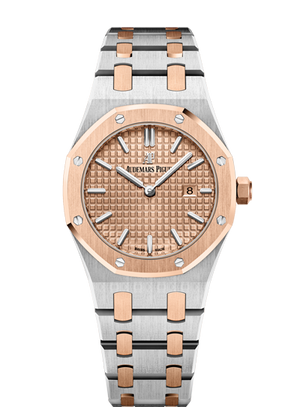 Audemars Piguet Royal Oak 33mm Steel Rose Gold Quartz