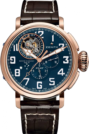 Zenith Pilot Tourbillon Tribute to Charles Kingsford Smith