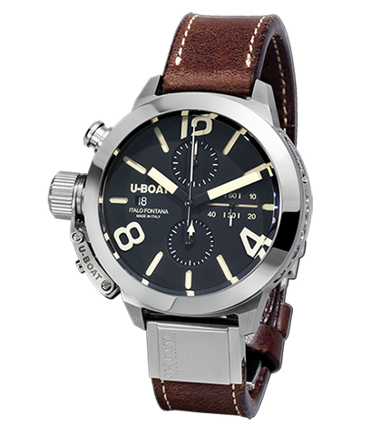U-Boat Classico Chrono 45mm Tungsten Black 7430