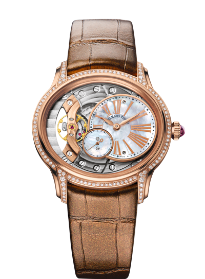 Audemars Piguet Millenary Rose Gold Diamonds Ladies
