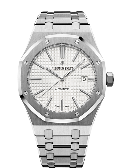 Audemars Piguet Royal Oak 41mm Steel White Dial