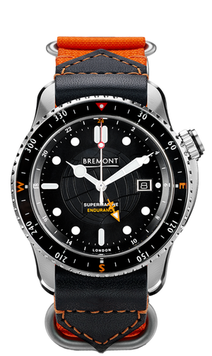 Bremont Endurance Limited Edition Orange Strap
