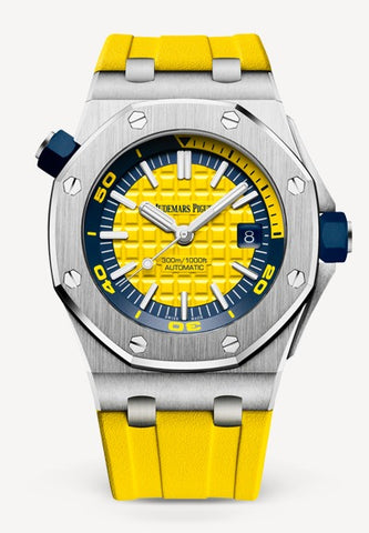 Audemars Piguet Royal Oak 42mm Offshore Diver Yellow