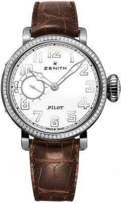 Zenith Pilot ladies 40mm with Diamonds