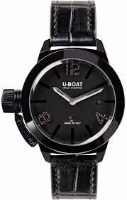 U-Boat Classico 6951 Ladies Black Diamonds 6951