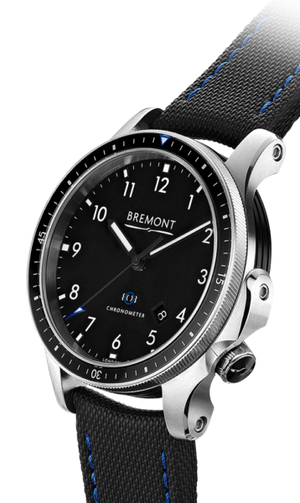 Bremont Boeing 1 SS/BK Stainless Steel Black