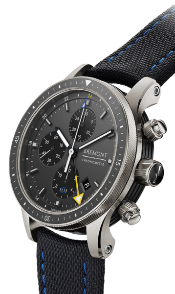 Bremont Boeing 247 Ti-GMT Dark Grey