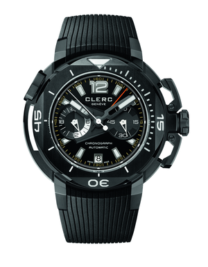 Clerc CHY-217 Black on Orange Strap