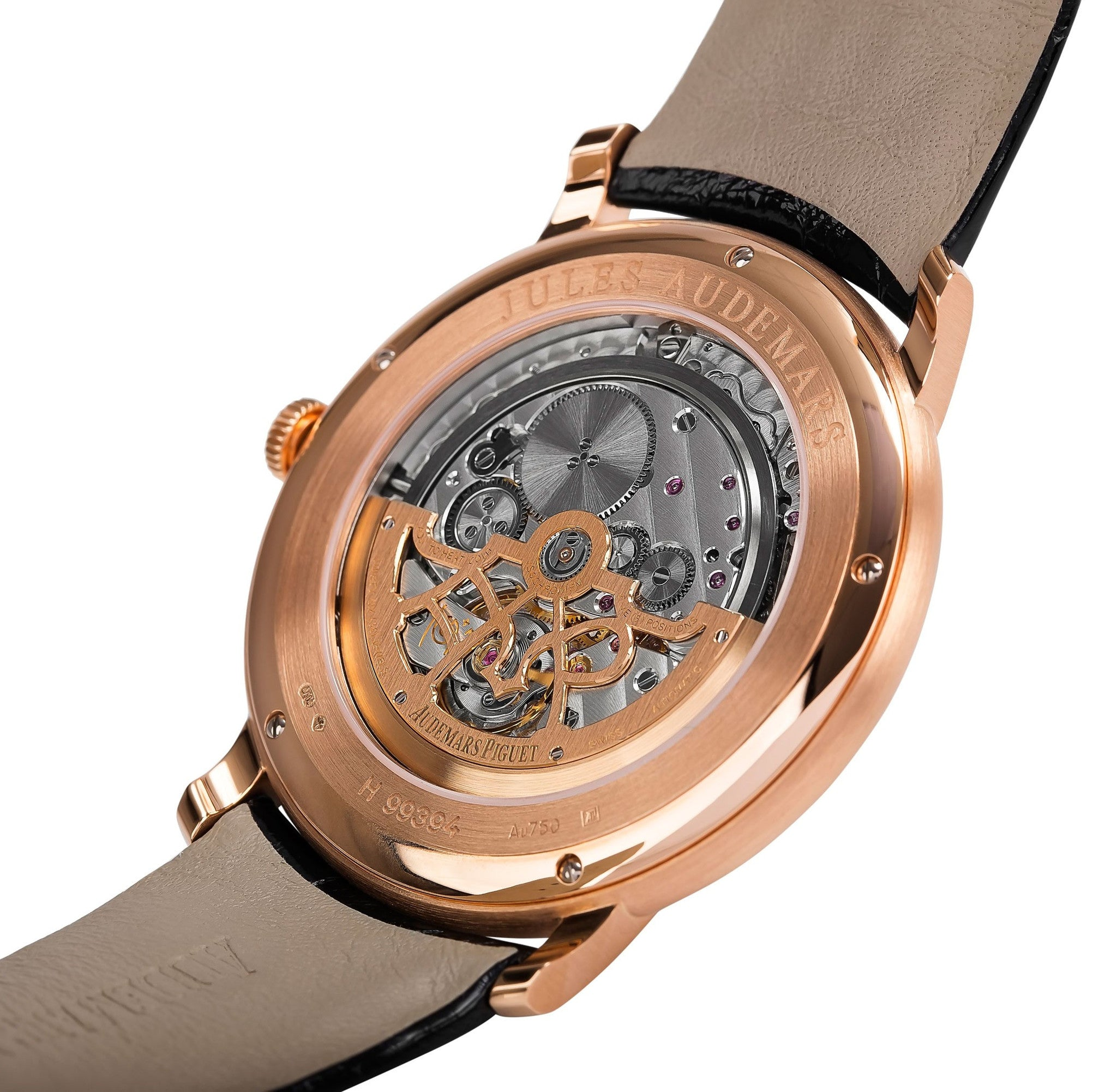 Audemars Piguet Jules Audemars Rose Gold Diamonds