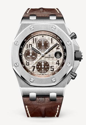 Audemars Piguet Royal Oak 42mm Offshore Chronograph Steel Brown