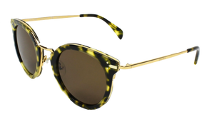 Celine Sunglasses CL 41373 Dark Havana Gold