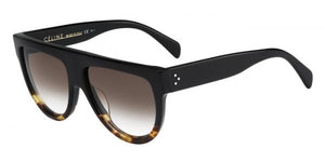 Celine Sunglasses CL 41026/S Black Tort