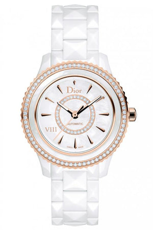 Dior DVIII Ceramic Gold Diamonds