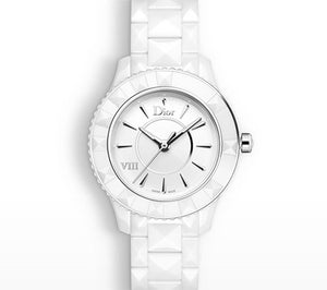 Dior VIII 33mm White Ceramic