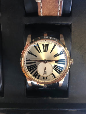 Roger Dubuis 42mm Excalibur Rose Gold
