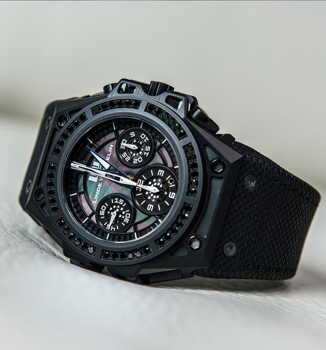 Linde Werdelin SpidoSpeed DLC Black Diamond