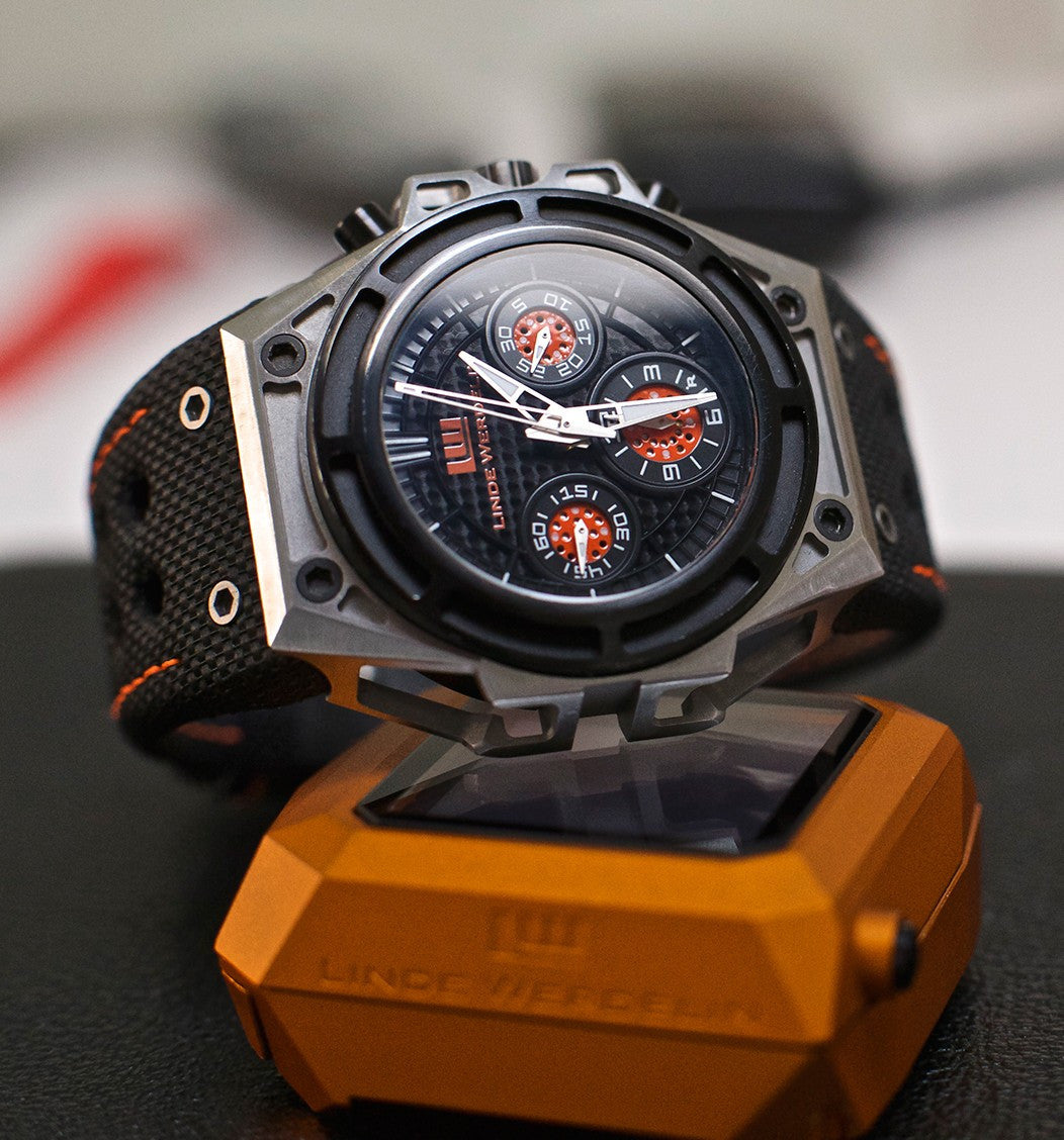 Linde Werdelin SpidoSpeed Steel Black Orange