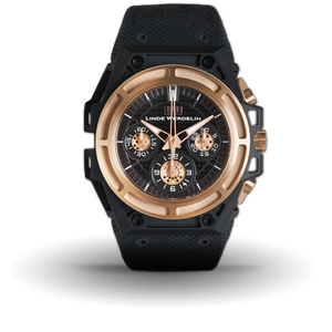 Linde Werdelin SpidoSpeed Rose Gold Ti DLC