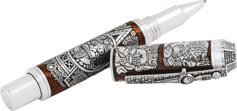 Montegrappa Ancient Mexican Civilisations Rollerballs