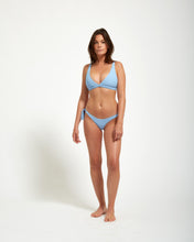 Load image into Gallery viewer, Santorini Bottom Blue Rib - Eurvin Swimwear & Clothing - Australia Made