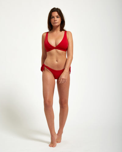 Santorini Bottom Rouge - Eurvin Swimwear & Clothing - Australia Made