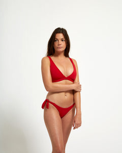 Capri Top Rouge - Eurvin Swimwear & Clothing - Australia Made