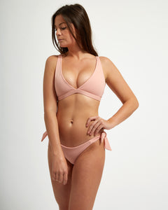 Capri Top Rose - Eurvin Swimwear & Clothing - Australia Made
