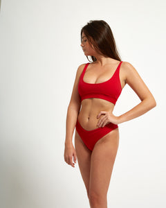 Balangan Top Rouge - Eurvin Swimwear & Clothing - Australia Made