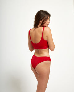 Biarritz Bottom Rouge - Eurvin Swimwear & Clothing - Australia Made