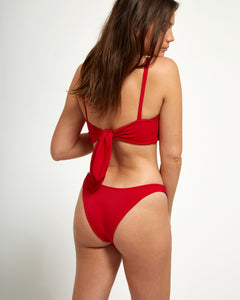 Amalfi Top Rouge - Eurvin Swimwear & Clothing - Australia Made