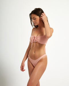 Amalfi Top Rose - Eurvin Swimwear & Clothing - Australia Made