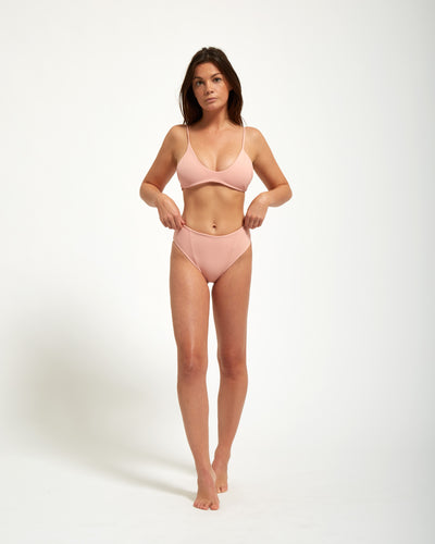 Corsica Bottom Rose - Eurvin Swimwear & Clothing - Australia Made