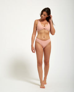 Tulum Bottom Rose - Eurvin Swimwear & Clothing - Australia Made