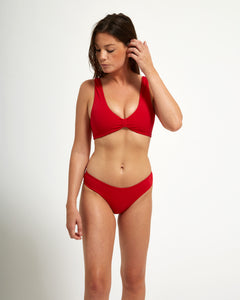 Luna Top Rouge - Eurvin Swimwear & Clothing - Australia Made