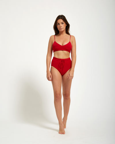 Mona Top Rouge - Eurvin Swimwear & Clothing - Australia Made