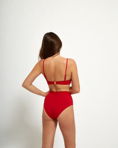 Byron Bottom Rouge - Eurvin Swimwear & Clothing - Australia Made