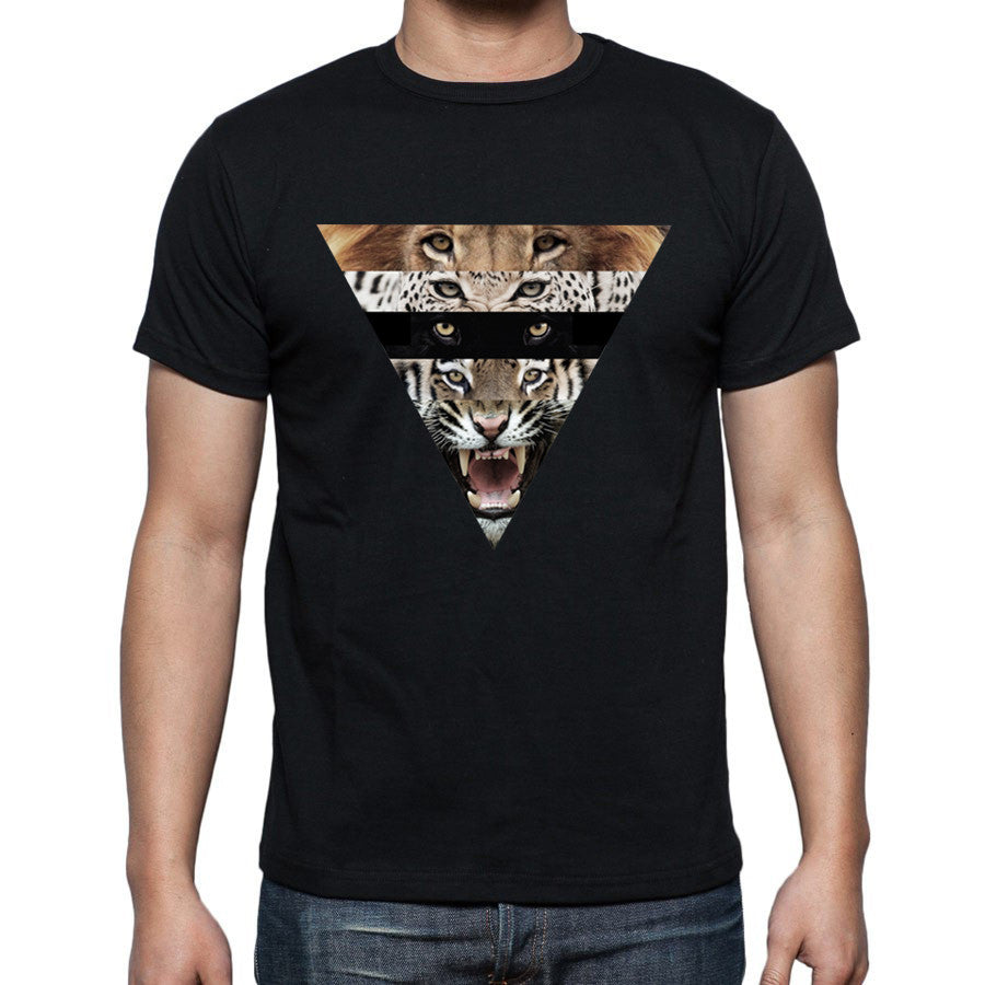 Animalize Black Fitted T-Shirt