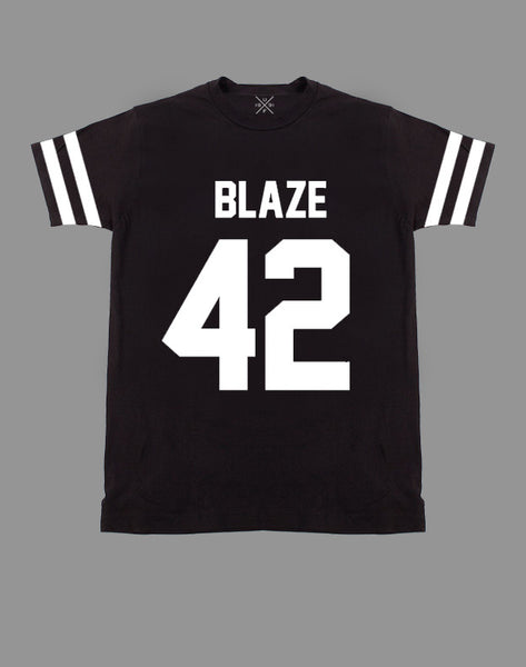 Blaze 42 Black Fitted T-Shirt