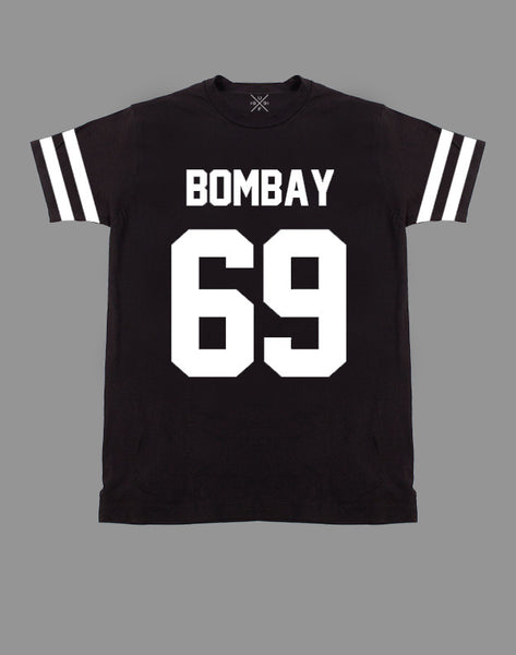 Bombay 69 Black Fitted T-Shirt