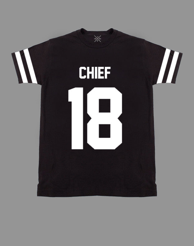 Chief 18 Black Fitted T-Shirt