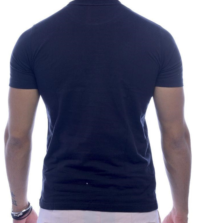 Aboriginal Print Black Fitted T-Shirt