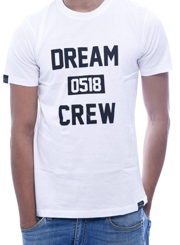 Dream Crew White Fitted T-Shirt